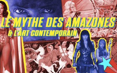 Les amazones dans l'art contemporain