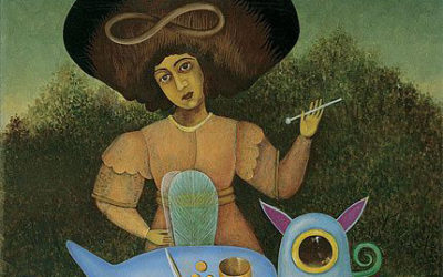 Portraits de 3 artistes médiums
